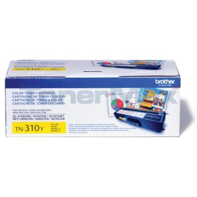 BROTHER HL-4150CDN TONER CARTRIDGE YELLOW